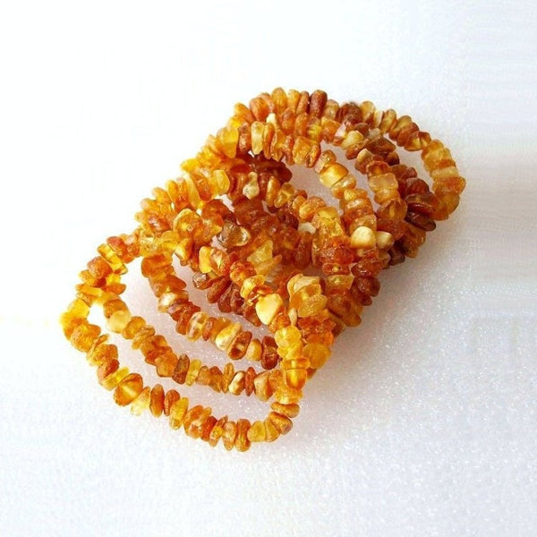 Baltic Amber Teething Baby Bracelet