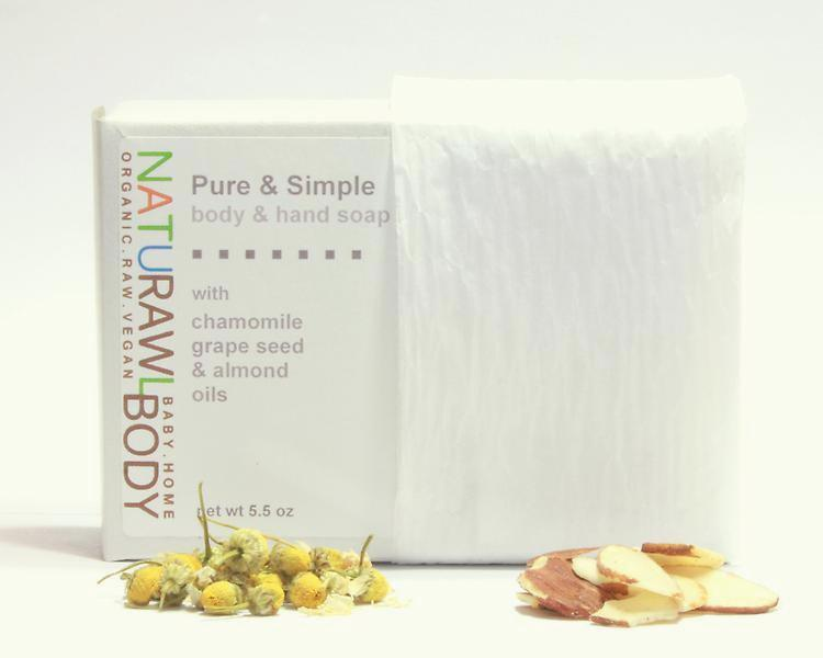 Pure & Simple Body + Hand Bar Soap