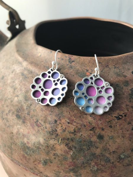 Sal'vij-Handcrafted Repurposed Bubble Earrings
