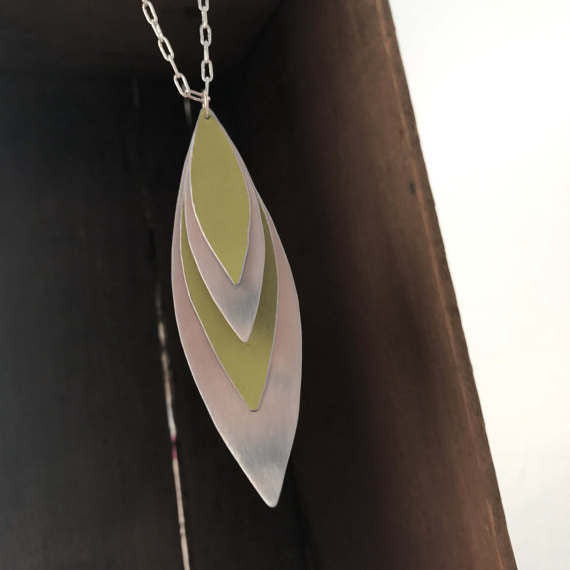 Sal'vij - Handcrafted Repurposed Free Form Necklace