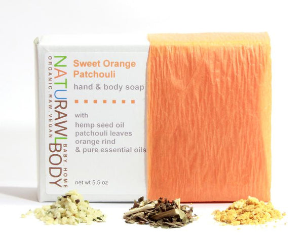 Sweet Orange Patchouli Body + Hand Soap