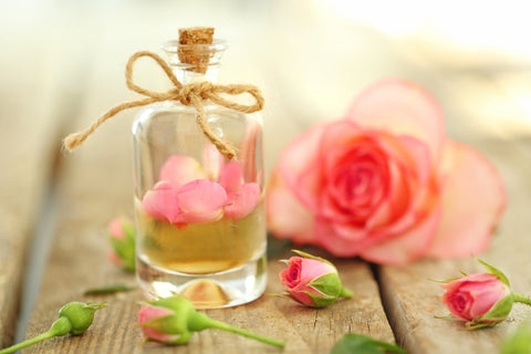 rose essential oil for stress