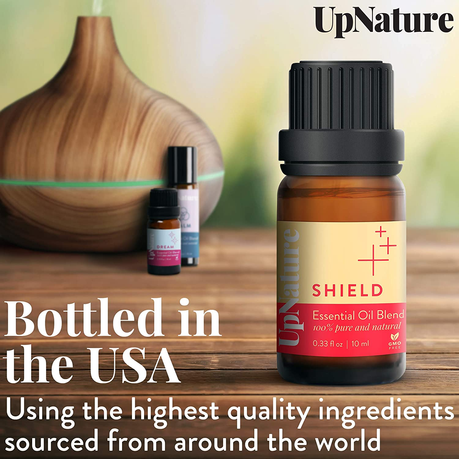 Shield Essential Oil Blend - 100% Pure Essential Oil - Keep Immunity On Guard - Fights Germs - Prevent Illness - Relieves Sickness & Cough