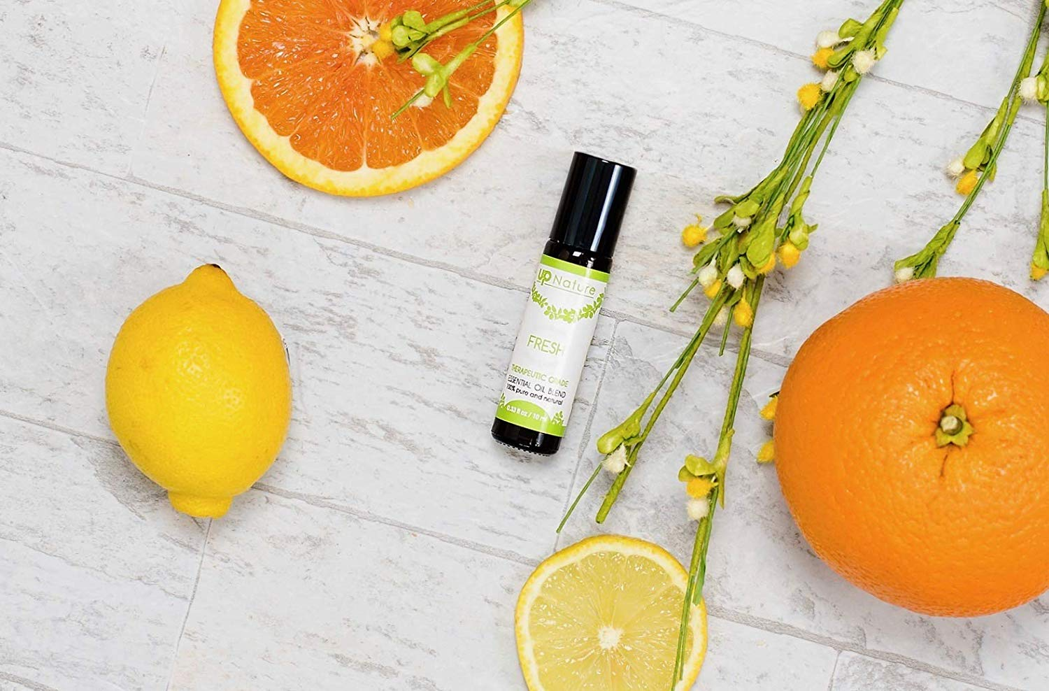 Fresh Essential Oil Roll On - Orange & Lemon Citrus Blend