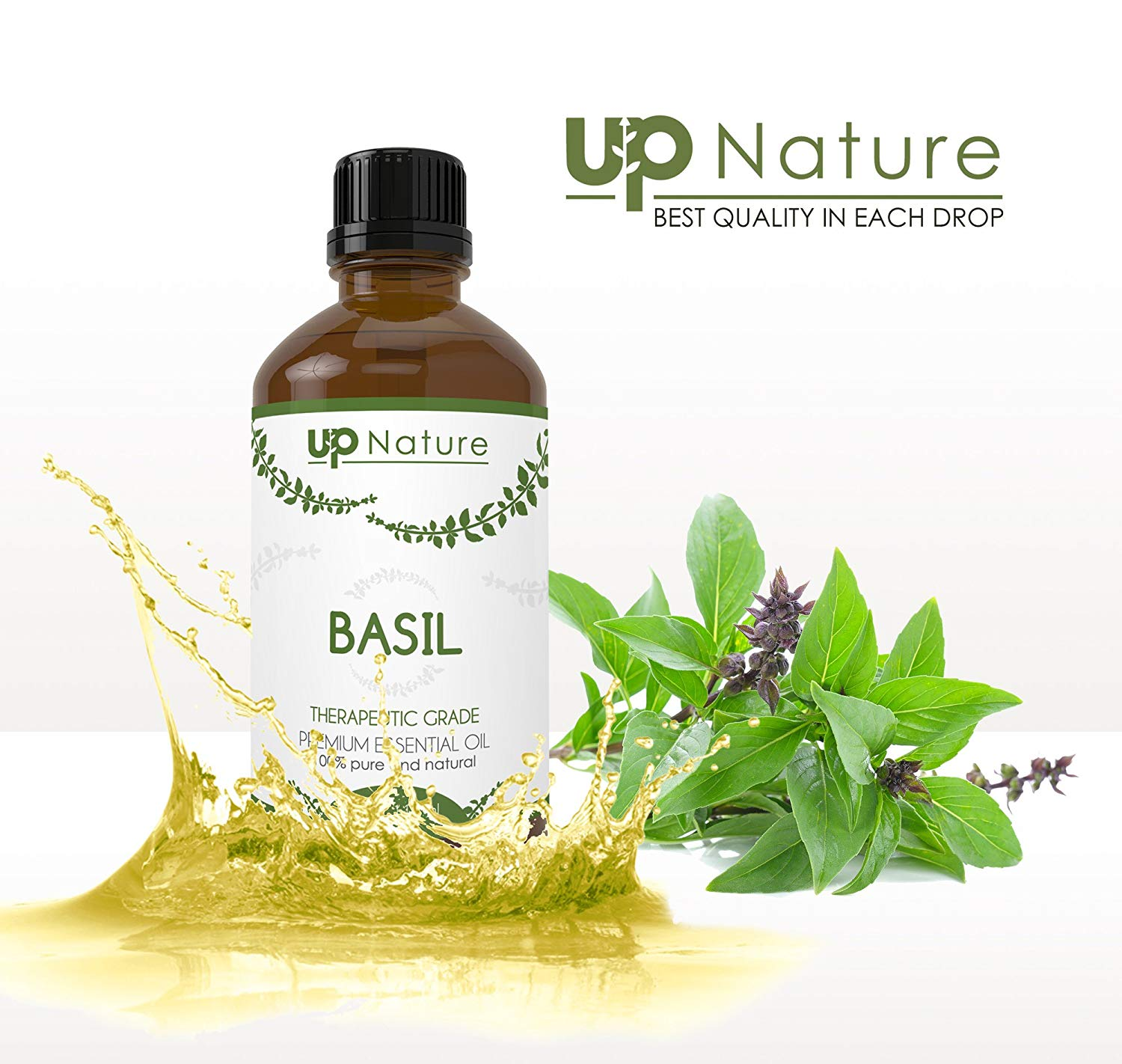 Basil Essential Oil (4oz)