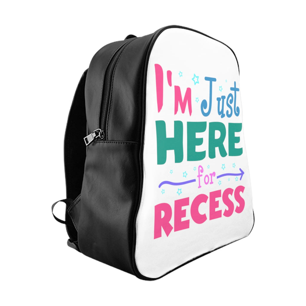 Funny Recess School Backpack For Kids - School Gift Bookbag