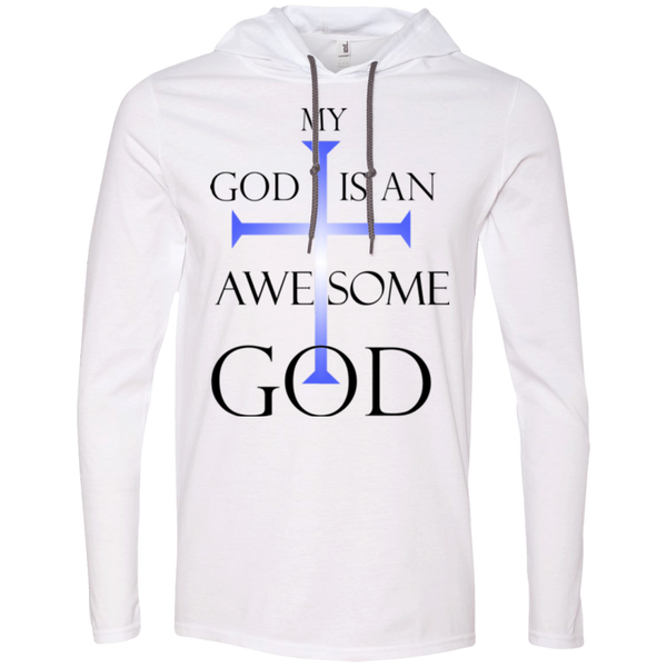 My God is An Awesome God | Christian Tshirt Hoodie Men