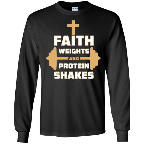 Faith Weights and Protein Shakes