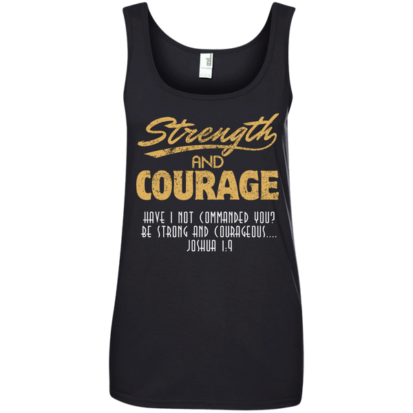 Strength and Courage Bodybuilding Faith shirt