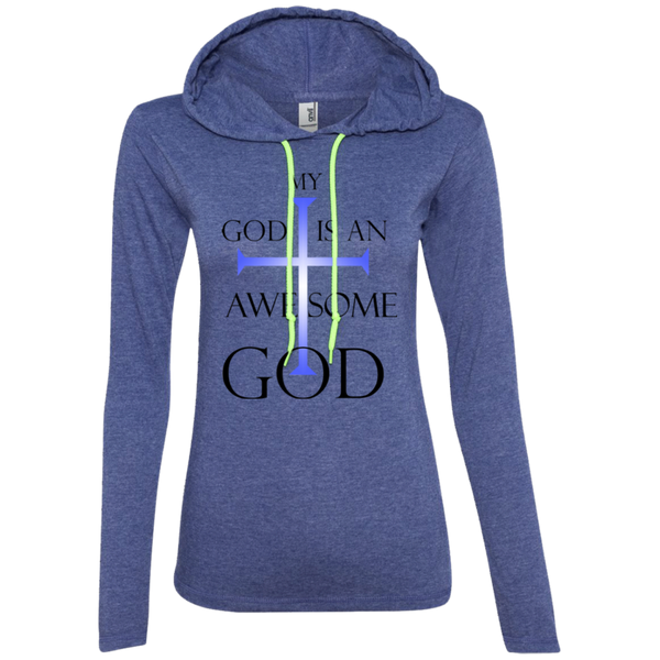 My God is An Awesome God | Christian Tshirt Hoodie Ladies
