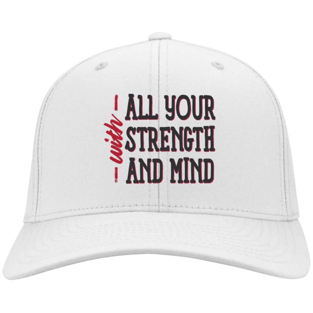 With All Your Strength and Mind | God Christian Hat | Cap