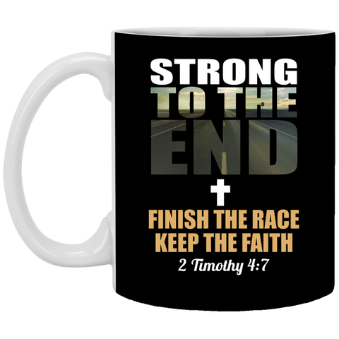 Strong to the End Mug