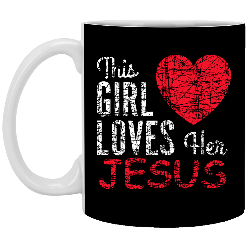 This Girl Loves Her Jesus Mug