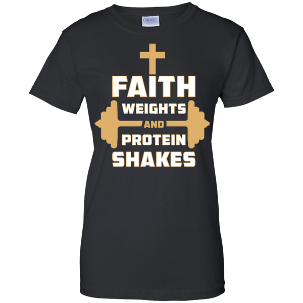 Faith Weights and Protein Shakes Ladies