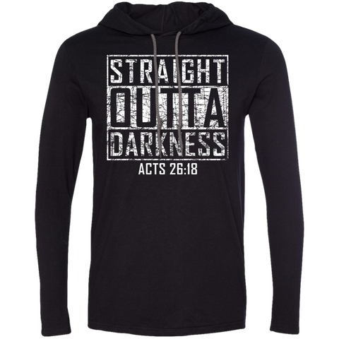 Straight Outta Darkness | Funny Christian Gift Hoodie
