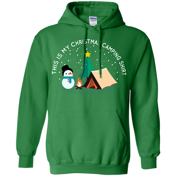 This is My Christmas Camping Shirt | Funny Camping Hoodie