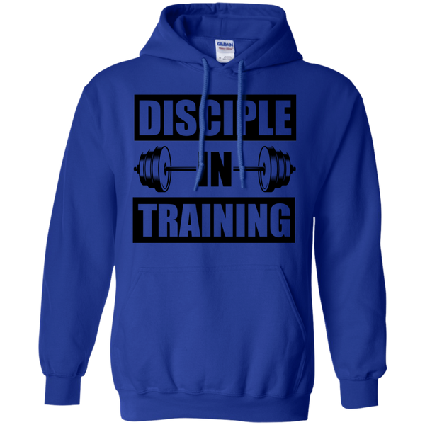 Disciple in Training | Christian Workout gift hoodie