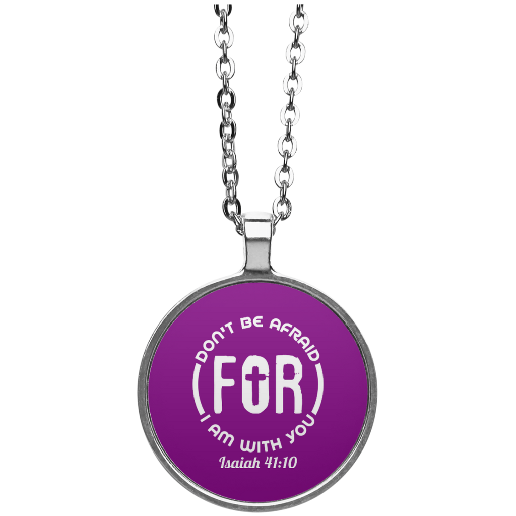 Don't Be Afraid Isaiah Necklace