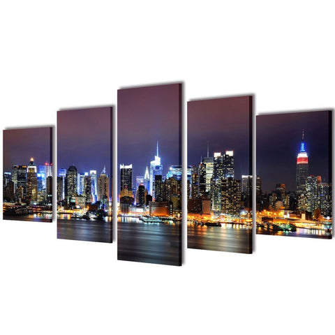 Stunning New York City Skyline HD Canvas Print