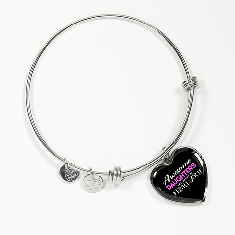 Daughter Birthday Bracelet Gift Heart Charm