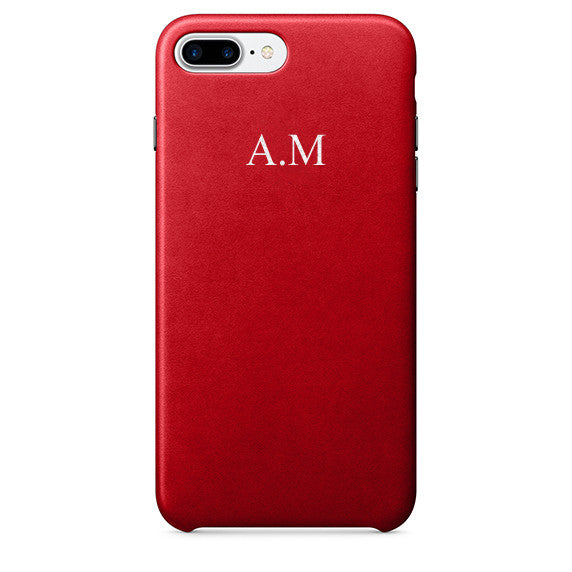 PU Leather Embossed Case