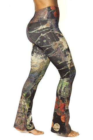 Bell Bottom Legging - Cosmic $108.00