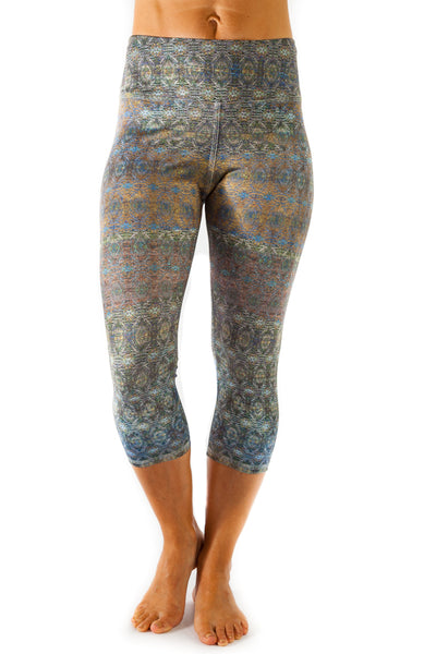 Inspire Legging -  Palm Tree  $88.00