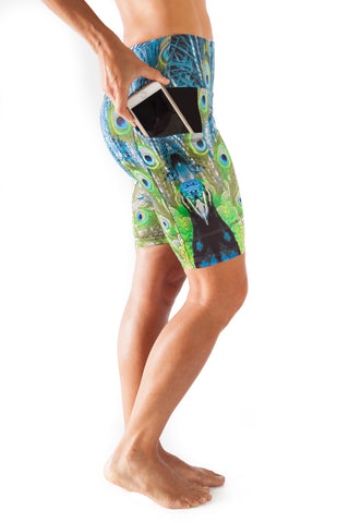 Harmony Pocket Short - Peacock  $76.00