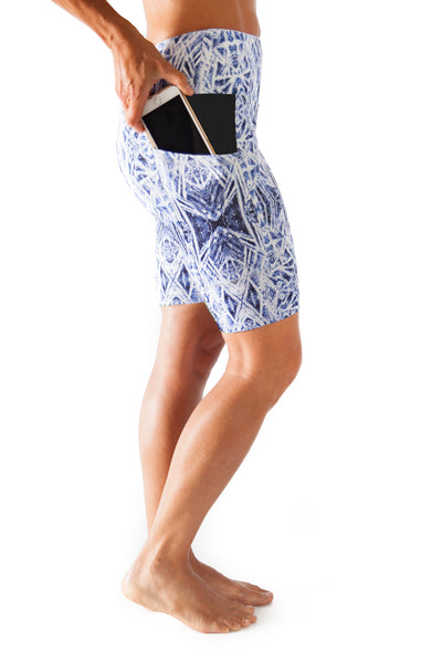 Harmony Pocket Short - Ice Crystals  $76.00