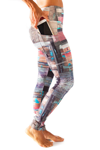 Harmony Pocket Legging - Wharfwood  $102.00