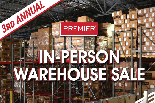 3rd Annual In-Person Warehouse Sale