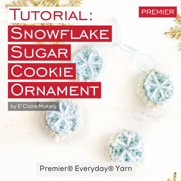 Tutorial: Snowflake Sugar Cookie Ornament
