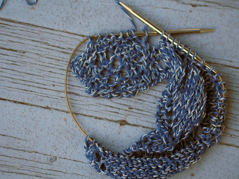 Rodeo - Prairie Shawl Tutorial image (4)