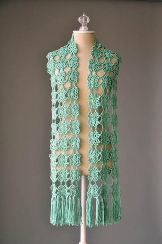 Flower Fall Scarf