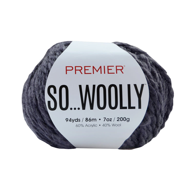 Premier® So Woolly Solids and Multis Yarn