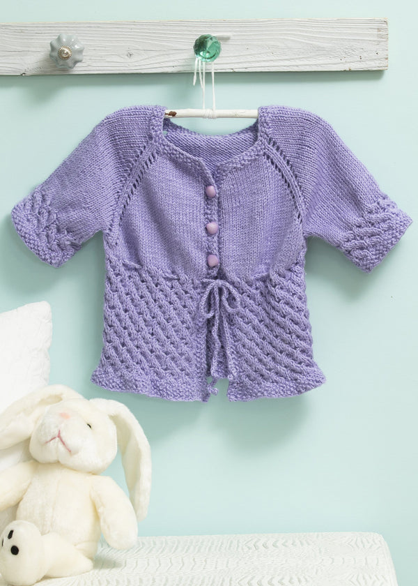Baby Cabled Cardi