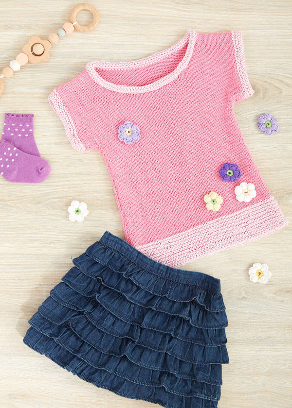 Cherry Blossom Knit Tee