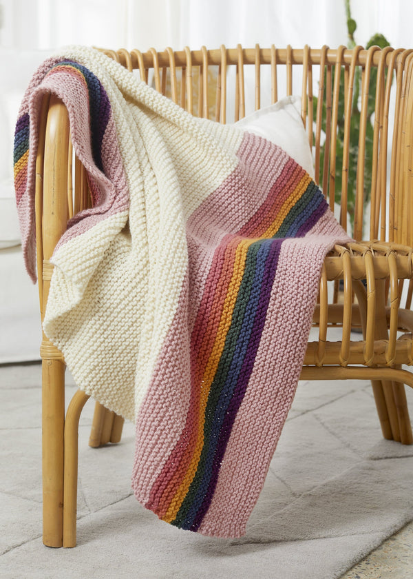 Retro Rainbow Blanket