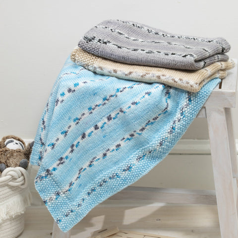 Premier® Eyelet Stripe Baby Blanket Free Download