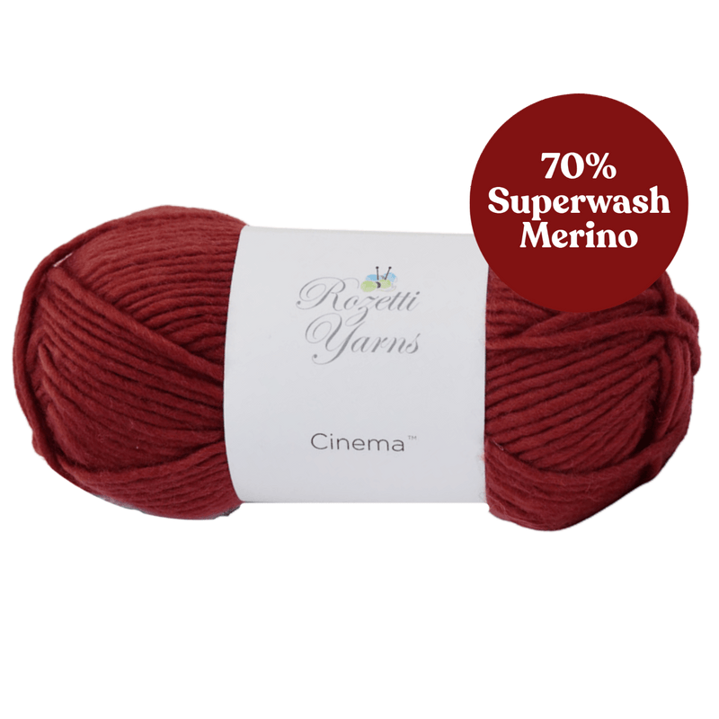 Cinema - Superwash Fine Merino Wool/Cashmere Blend