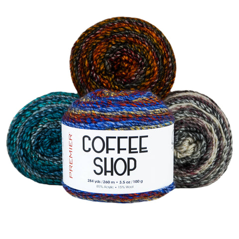 Premier® Anti-Pilling DK Colors™ Self-Striping Yarn