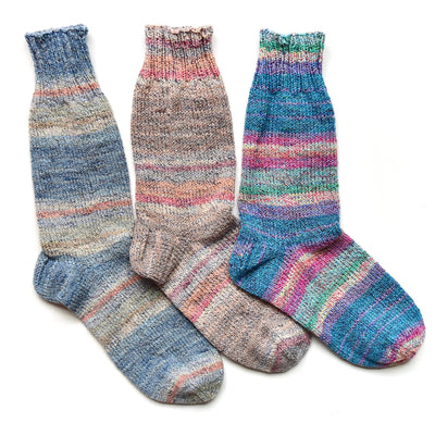 Cotton Collage Socks