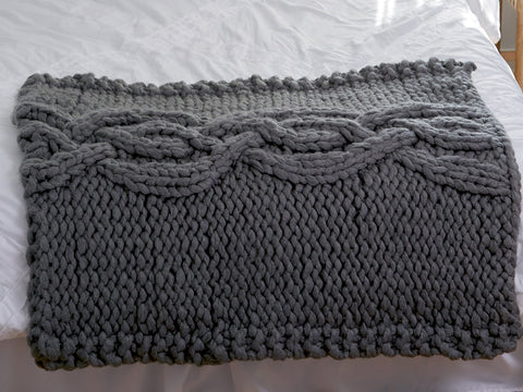 Double Striped Cowl