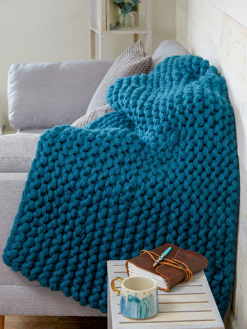 Celtic Cable Blanket