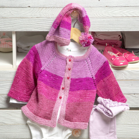 Pixie Cardigan and Hat