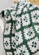 Fields of Clover Afghan