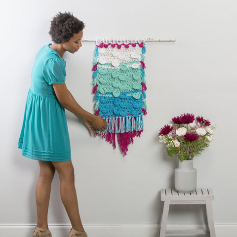 Disc & Puff Wall Hanging