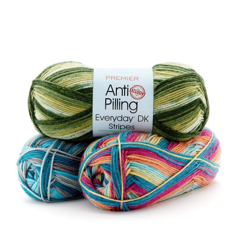 Premier Anti-Pilling Everyday® DK Stripes - Limited Release