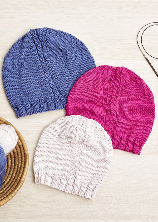 Cable Accent Hats