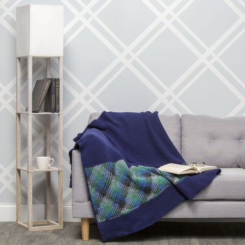 Modern Chevron Wall Hanging